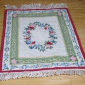 Floral Wreath Carpet
