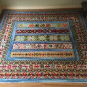 Kashkuli Gabbeh Carpet (square)