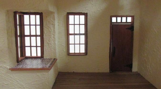 Artist s cottage interior trim the den of slack for Cottage style interior trim
