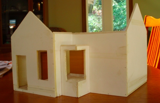 Getting started on the Artist's Cottage | The Den of Slack