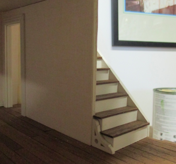 ... So In That Room (when I Get To It!), The Bay Window Trim And Staircase  Will Complement Each Other.